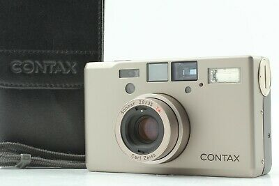 $ CDN2454.74 • Buy [Mint] Contax T3 Double Teeth 35mm Point & Shoot Film Camera From Japan #1044