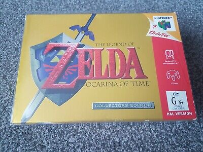 £2500 • Buy The Legend Of Zelda Ocarina Of Time Collectors Edition N64 Rare Mint Condition