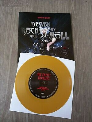 £200 • Buy The Pretty Reckless 7  Gold Vinyl Limited To 750 Death By Rock And Roll