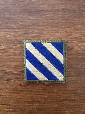 £9.99 • Buy WW2 USA American 3rd Infantry Division White Back