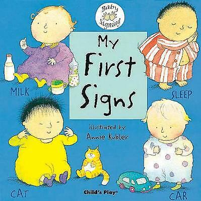 £5.33 • Buy My First Signs: BSL (British Sign Language) (Board Book, 2004)