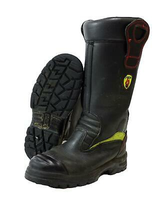 £24.99 • Buy YDS Firefighter Fire Rescue Leather Boots Jolly Crosstech Fire Good Condition