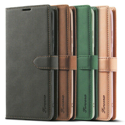 $ CDN7.92 • Buy Leather Case Cover For Samsung Galaxy S21 Ultra S20 Plus S20 S10E S9 Note 20 10