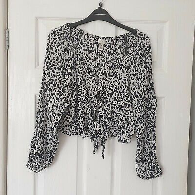 £2.99 • Buy Beautiful River Island Tie Front Top Size 14 Must See