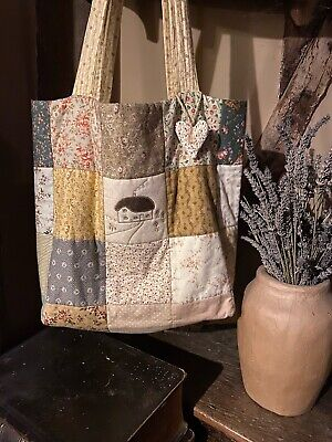 £5.50 • Buy Patchwork Quilted Tote Bag Sewing Pattern (easy To Make)
