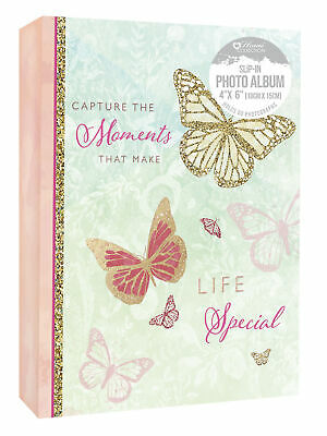 £4.71 • Buy Capture The Moments Make Life Special Photo Album 80 Photographs Slip In 4 X 6