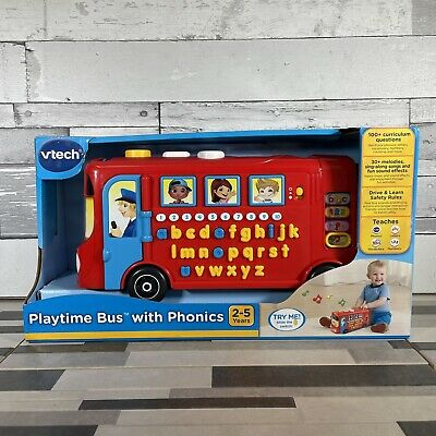 £29.97 • Buy Vtech Playtime Bus Educational Playset, Learning Toy With Phonic Sounds