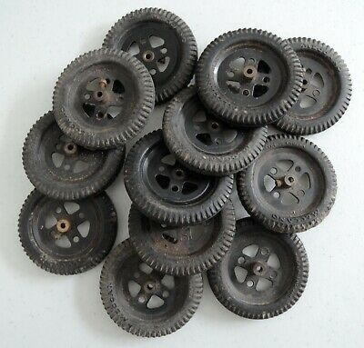 £2 • Buy Meccano 2 Inch Pulleys And Tyres - Parts 20a And 142a X 12
