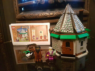 $ CDN11.25 • Buy Harry Potter Lego (4707) Hagrid's Hut - 95% Complete - With Paper Instructions