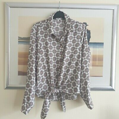 £3.99 • Buy Stunning River Island Tie Front Top Size 14 Must See