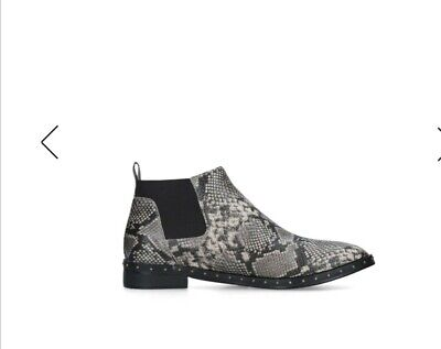 £15 • Buy Chelsea, Boots.size 4. BNIB. Grey . London Rebel. 💛FAB WITH Anything. 💗💗