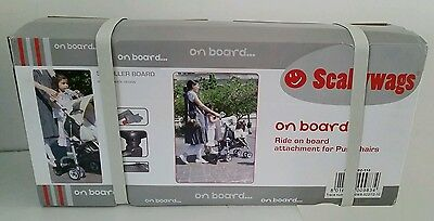 £50 • Buy Scallywags On Board Buggy Skater Ride On For Pushchair Stroller Accessory New 👶