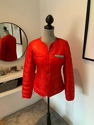 £15 • Buy Miss Captain By Caption Tortue Red Padded Jacket