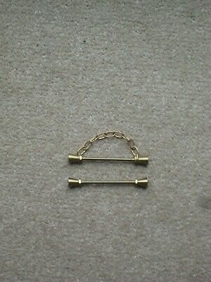 £3 • Buy Pair Of Bell-Pull Ends For Displaying Embroidery