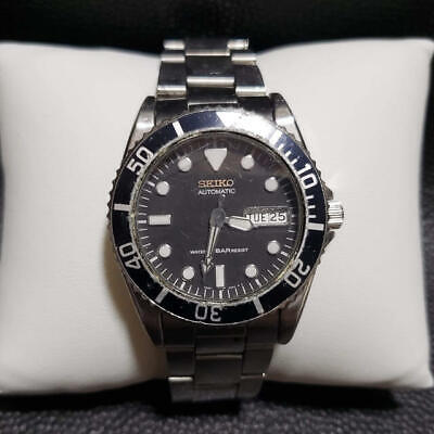 $ CDN263.10 • Buy SEIKO DIVER'S 7S26-0050 Day-Date Automatic Black Dial Watch