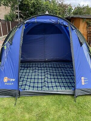 £255 • Buy Hi Gear Rock 4 Tent - Simple To Pitch - 4 Person Tent