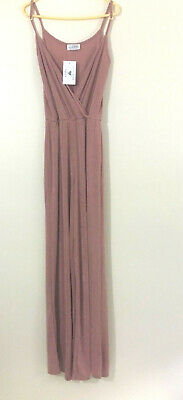 £9.12 • Buy PINK JUMP SUIT By In The Style  Pink Jumpsuit SIze UK8