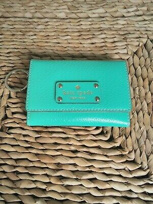 £9.99 • Buy Kate Spade Small Green  Leather Purse