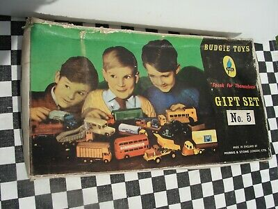 £159.95 • Buy 1950's/60's Budgie Toys Diecast Gift Set No.5  - Near Mint Condition Boxed