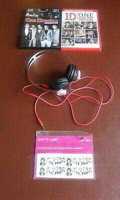 £16 • Buy One Direction Headphones,Nail Decals & Dvd's.