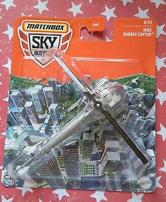 £9.99 • Buy Matchbox SKY BUSTERS MBX Bubble Copter 8/31 2021