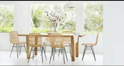 AU200 • Buy White Designer Dining Chairs Set Of 4 RRP$1440
