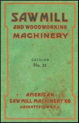 $4.97 • Buy 1952 Sawmill And Woodworking Machinery Catalog #35