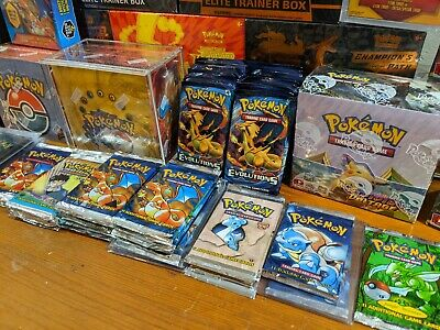 $249.99 • Buy Pokemon Mystery Box, Vintage WOTC Cards, ETBs, Sealed Booster Packs, Tins!!!