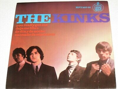£43.25 • Buy The Kinks You Really Got Me Spanish Original Issue Ep 7