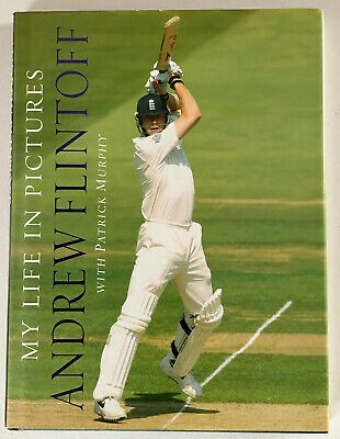 £24.99 • Buy ANDREW FLINTOFF SIGNED BOOK 'My Life In Pictures' - HB Book - Genuine Autograph