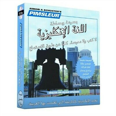 £14.49 • Buy Pimsleur English For Arabic Speakers Quick & Simple Course - Level 1 Lessons 1-8