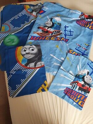 £4 • Buy 2 Sets Toddler Duvet Covers Thomas The Tank Engine