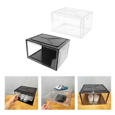 $42.53 • Buy Shoe Box Clear Shoe Storage Boxes Front Opening With Lids For Women/Men