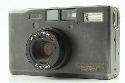 $ CDN2511.39 • Buy 【CLA'd Exc+5】 Contax T3 Double Teeth Point & Shoot 70th Limited Black From Japan