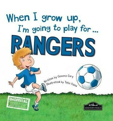 £4.77 • Buy When I Grow Up I'm Going To Play For Rangers  Good Book Gemma Cary