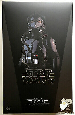 $ CDN336.88 • Buy Ready New Hot Toys Star Wars Ep Vii Force Awakens First Order Tie Pilot Mms324