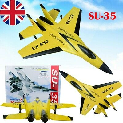 £32.88 • Buy SU-35 Model Jet Fighter Remote Control Aircraft RC Airplane Plane Aeroplane Toy