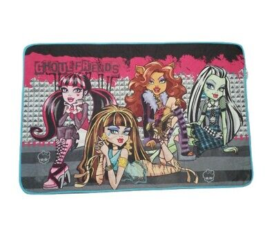 £18.74 • Buy Monster High Ghoul Friends Bed Room Area Accent Rug 2016 45 X 25.5 Slip Proof