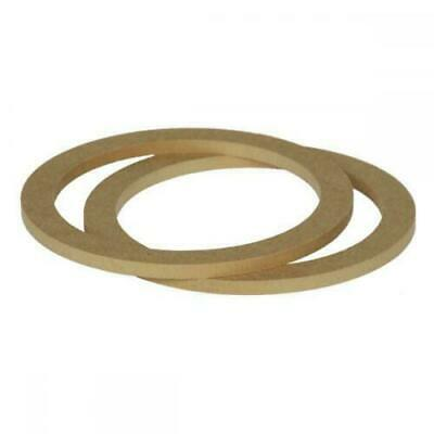 £8.91 • Buy 6.5  165mm Pair Of MDF Speaker Spacer Mounting Rings 8mm Thick ID 144mm ED 177mm