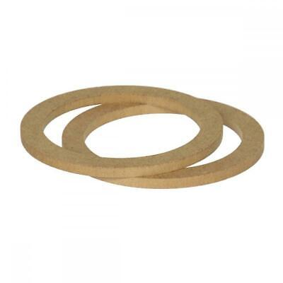 £8.91 • Buy 5.25  130mm Pair Of MDF Speaker Spacer Mounting Rings 8mm Thick ID 118mm