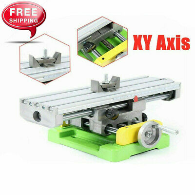 $75 • Buy XY 2-Axis Compound Milling Machine Work Table Cross Slide Bench Drill Vise