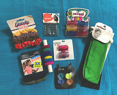 $ CDN2.51 • Buy Scünci Hair Clips Bands Claws Mixed Lot New Partial Packs Colors Other Brands