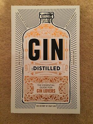 £1 • Buy Gin Distilled: The Essential Guide For Gin Lovers (Hardback)