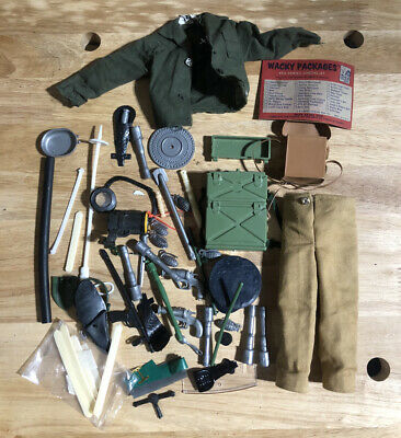 $ CDN18.87 • Buy Huge Lot Of GI JOE 12 Inch Accessories - Weapons / Clothes / Knife / Hat - READ