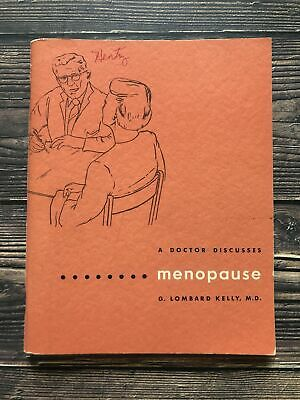 £12.14 • Buy Vintage A Doctor Discusses Menopause Booklet 1950's Housewife Sex Education