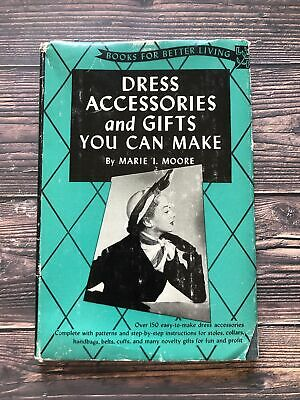 £25.16 • Buy Vintage Dress Accessories And Gifts You Can Make Book 1952 1950's Housewife