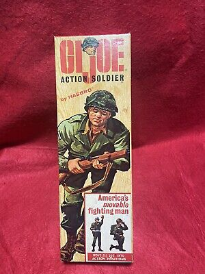 $ CDN29.58 • Buy Vintage Gi Joe Action Soldier Box Top Dated 3-10-65 Excellent Condition No Reser