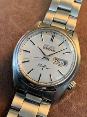 $ CDN269.59 • Buy SEIKO 5 Actus Silver Wave 6306-8020 Day/Date Automatic Watch