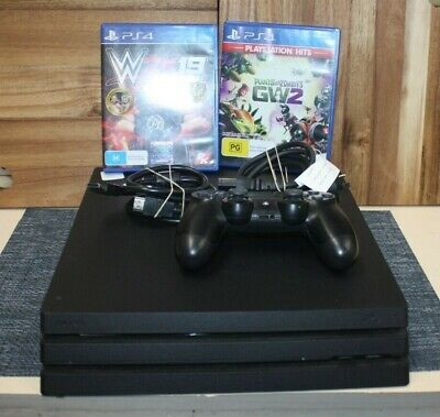 AU229.50 • Buy Ps4 Pro 1tb With 2 Games