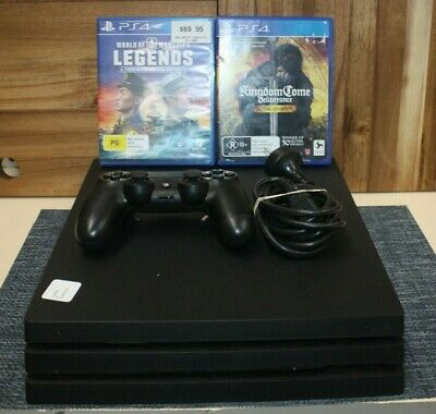 AU245.50 • Buy Ps4 Pro 1tb With 2 Games
